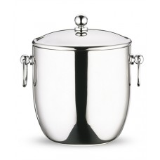 Curved Double Wall S/Steel Ice Pail 4.5L