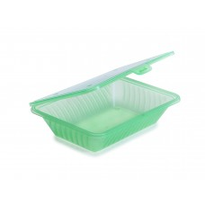 EC-18 Eco Single Compartment Standard Size Flat Top Food Container