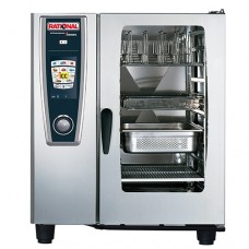 Rational 10 Grid Electric Self Cooking Centre SCC101E Stainless Steel